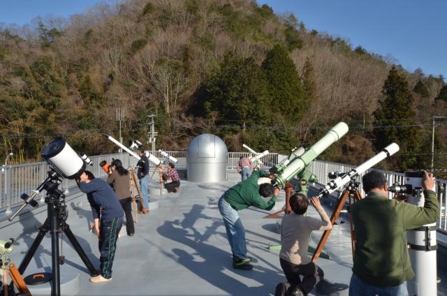 屋上観測フロア1