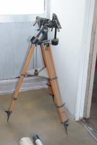 観中ーめずらしい望遠鏡