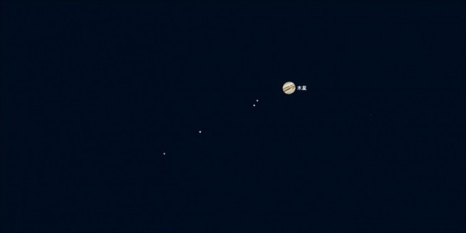5月4日22時木星拡大