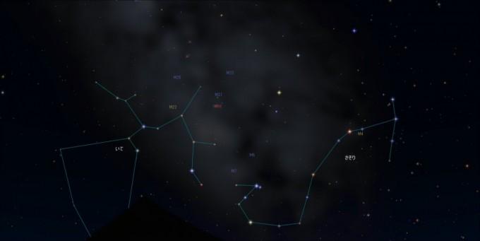 20時南天M天体