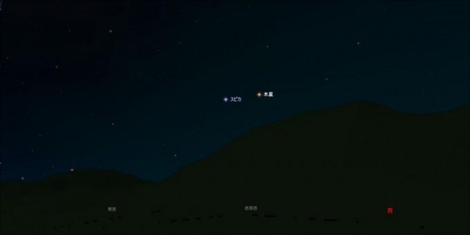 19時40分木星
