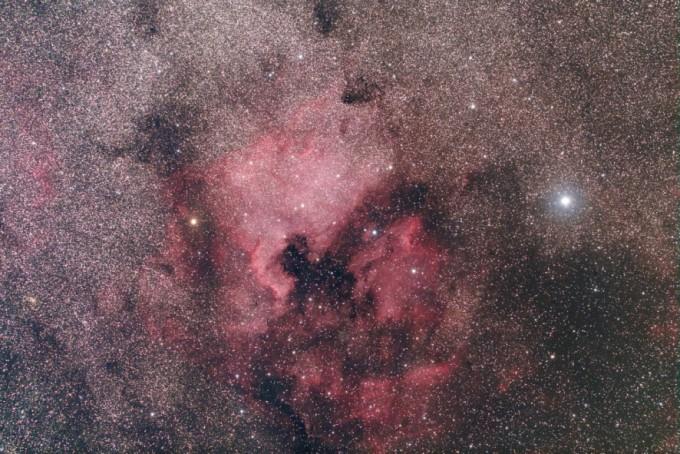 北アメリカ星雲サンプル