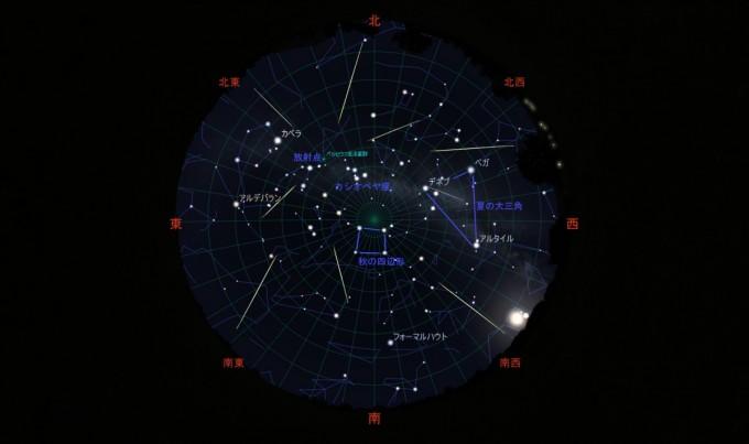 ペルセウス座流星群00