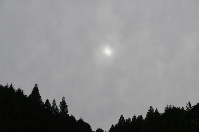 部分日食17時09分